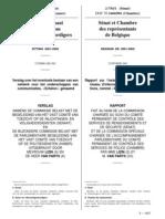Echelon Senat 2002- Comitr, Anne-Marie Lizin, Belgique, Sénat et Chambre des représentants de Belgique