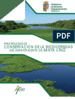 Prioridades de conservación de la biodiversidad del departamento de Santa Cruz - Bolivia