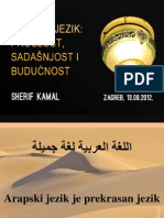 Presentation- Arapski Jezik- 13.09.2012