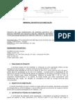 Subestacao - Especificacoes Tecnicas