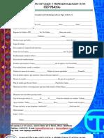 Formulario Para Solicitud de Becas a,B,C,D y E