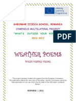 Weather Poems Booklet - 5D