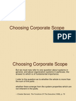 Choosing Corporate Scope 1