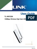 Adaptador TL WN722N TP Link