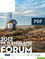 New England Campus Sustainability Forum Program