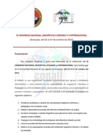 PONENCIAS ESTUDIANTILES