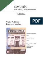 Elementos de Micro y Macro Economia - Beker, Victor - Cap I