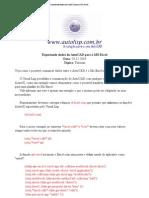 AutoCAD e AutoLISP - Exportando Dados Do AutoCAD Para o MS-Excel