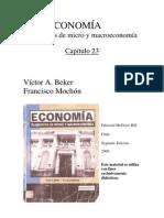 Elementos de Micro y Macro Economia - Beker, Victor - Cap XXIII parte A