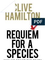 Hamilton, Clive - Requiem for a Species