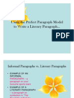 Quote Integration Rules & Literary Paragraphs