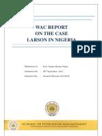 larson in nigeria