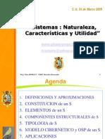 Tema 2 Sistema Naturaleza Tipos Utilidad Abril 2005