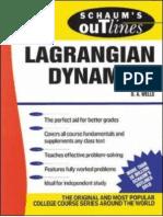 Schaum's Lagrangian Dynamics