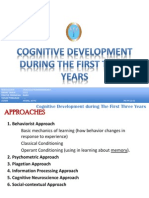 Cognitive Development During the 1st Three Years
