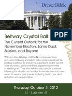 Beltway Crystal Ball