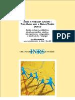 Bellavance, G., L'Allier, J. - Accès et médiation culturelle
