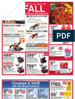 Seright's Ace Hardware It's Time to Get Ready for Fall Sale