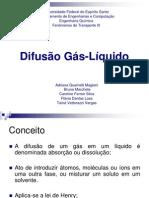 Difusão Gás-Líquido
