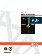 DNA for the Defense Bar