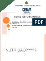 Tecnico Enfermagem - DEFINIÇÃO NUTRIÇÃO e DIETETICA