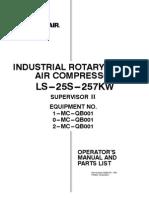 COMPRESOR SULLAIR LS25S-257KW
