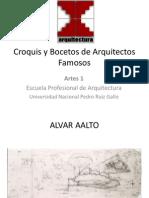 Croquis y Bocetos de Arquitectos Famosos