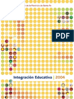 Integracion Educativa 2004