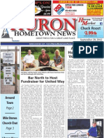 Huron Hometown News - September 20, 2012