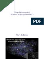 שפות סימולציה- הרצאה 2 | Networks Overview