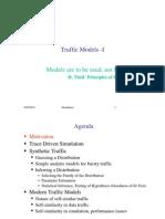שפות סימולציה- הרצאה 15 | Traffic Models I
