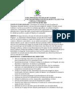 PLAN ESTRATÉGICO DE TRANSFORMACIÓN ESCOLAR (P.E.T.E.) EST Nº 44