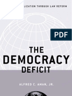 Aman - The Democracy Deficit; Taming Globalization Through Law Reform (2004)