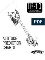 Rocket Altitude Prediction Charts