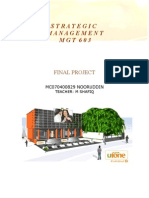 Strategic Management - Ufone Project