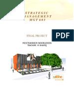 Strategic Management - Ufone Project
