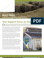 2012 Fall Marin Agricultural Land Trust Newsletter