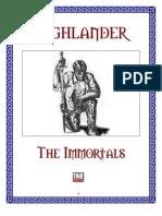 Highlander - D20 - 3.5