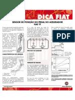 Sensor de Posicao Do Pedal Do Acelerador Fiat Tt Agosto