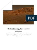 Martian Landings, Then and Now