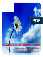 Tawheed is the Ultimate Truth - Article-pamphlet