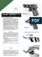 Beretta mod. 950 manual (italian)