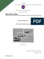 Evolution of Modern Aircraft