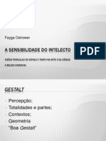 A Sensibilidade Do Intelecto POWER POINT