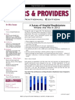 Payers & Providers National Edition – Issue of September 2012