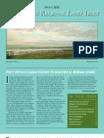 Spring 2012 Northcoast Regional Land Trust Newsletter