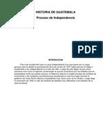 Proceso de Independencia de Guatemala