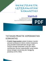 4. Tatanan Praktik Keperawatan Komunitas