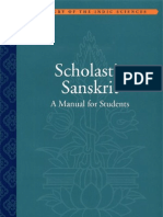 Scholastic Sanskrit. a Manual for Students.(G.tubb,E.boose)(NY,2007)(600dpi,Lossy)