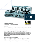 History of Fitness